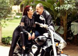 خالد الصاوي وزوجته مي كريم