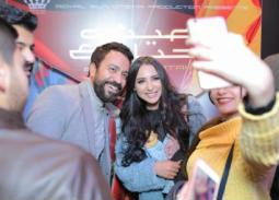 """10 صور- سامح حسين وساندي في جولة بالسينمات احتفالا بفيلم """"عيش حياتك"""""""