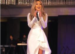 24 صورة- مايا دياب تتألق في حفل عيد الحب بالقاهرة الجديدة .. تغني لعمرو دياب  وسط حضور المشاهير