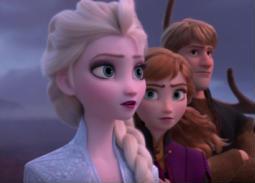 Frozen 2 يحقق أعلى إيرادات لفيلم رسوم متحركة عالميا في أول يوم لعرضه