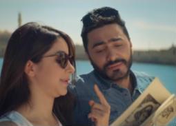"""بالفيديو- تامر حسني يعود لـ""""المنتزه"""" بعد عبد الحليم حافظ وصباح"""