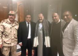 تكريم خالد الصاوي وإسعاد يونس