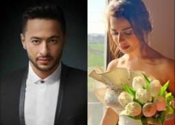 """بالصور- رانيا منصور بفستان زفافها على حمادة هلال في """"ابن أصول"""""""