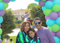 عيد ميلاد ابنة داليا البحيري