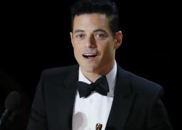رامي مالك يتوج بجائزة أفضل ممثل عن دوره في فيلم Bohemian Rhapsody