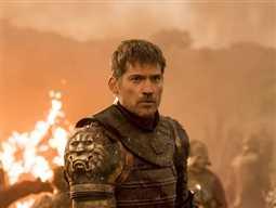 """بالفيديو- شاهد ماذا فعل """"جايمي لانيستر"""" مع ظهور """"جون سنو"""" في الإعلان الدعائي لـ Game of Thrones"""