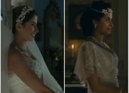 """#شرطة_الموضة: روبي بفستانين زفاف..""""سلمى"""" و""""نادرة"""" أيهما الأجمل؟"""