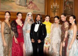 عرض أزياء لهاني البحيري في Spanish Arab fashion