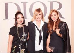 هكذا أطلت النجمات في عرض الأزياء الأول لـDior في دبي