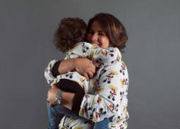 6صور- إنجي وجدان لأول مرة مع ابنها إسماعيل في أحدث جلسة تصوير