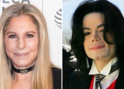 باربرا سترايساند حول اتهامات التحرش ضد مايكل جاكسون: ربما تحرش بهما ولكنهما كانا سعداء
