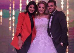 أول فيديو من حفل زفاف محمد رشاد ومي حلمي