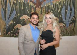 40 صورة- محمد رشاد ومي حلمي في أول ظهور لهما بعد الزفاف