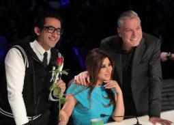 أعضاء لجنة التحكيم من الحقة الثانية من العرض المباشر من برنامج arabs got talent