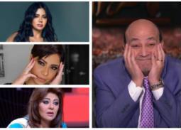 عمرو أديب للشكاوى والأزمات.. فنانات يلجأن له في كل مشكلة