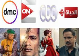 """أقوى 15 مسلسلا في شهر رمضان على الشبكات التليفزيونية الأربعة CBC و ON E و dmc و""""الحياة"""""""