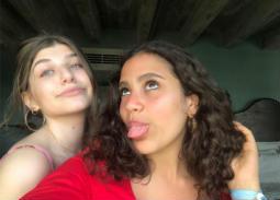 أحدث صور لجانا عمرو دياب.. مع صديقتها وعلى الشاطئ