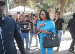 بالصور- رانيا يوسف تدلي بصوتها في الاستفتاء على التعديلات الدستورية 2019