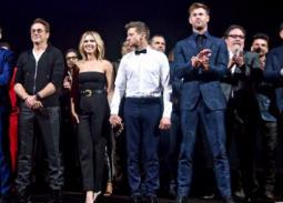 50 صورة- احتفال كل أبطال Avengers: Endgame بالفيلم وسط عدسات المصورين