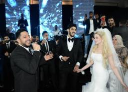 الصور الكاملة لحفل زفاف علي جبر – غناء حماقي وحضور شيكابالا ومشاهير الرياضة