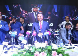 صور المؤتمر الصحفي لمحمد عبده.. يكشف تفاصيل ألبومه الجديد