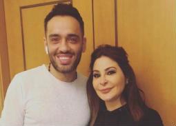 صورة- رامي جمال يعلن عن مفاجأة مع إليسا