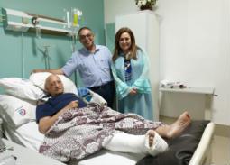 خاص بالصور- نهال عنبر: هذه تفاصيل العملية الجراحية لفيصل ندا
