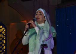 """بـ""""البردة"""" و""""في عشق الله"""" عايدة الأيوبي تتألق في أمسية رمضانية بالأوبرا"""