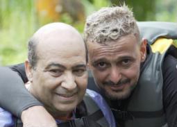 """رامز جلال تعقيبا على حلقة طارق الشناوي في """"رامز في الشلال"""": """"فداك"""""""