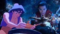 بالصور- كيف اختلفت شخصيات Aladdin بين النسخة الحية والفيلم الأصلي؟