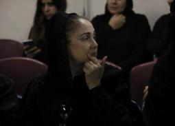 شيرين من جنازة محمد نجم