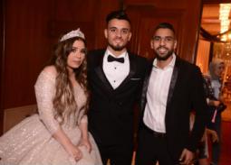 صلاح محسن وعروسه مع مؤمن زكريا