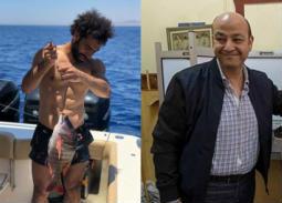 """تعليق ساخر لعمرو أديب بشأن """"سمكة"""" محمد صلاح"""