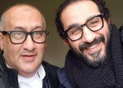 أحمد حلمي وشقيقه خالد