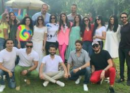 نجوم الفن في عيد ميلاد كريم محمود عبد العزيز