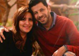 إياد نصار وزوجته
