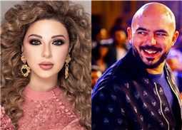 محمود العسيلي وميريام فارس