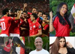 نجوم الفن يحتفلون بفوز المنتخب والتأهل لدور الـ16 بكأس الأمم الإفريقية