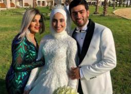 صورة- بوسي شلبي تحتفل بزواج حفيدة شقيقتها