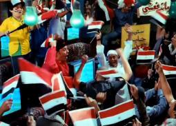صورة- عمرو عبد الجليل في إنتظار هدف مصر الأول بطريقة إبراهيم توشكى