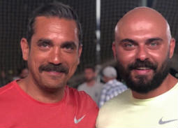 صورة- هذه أمنيات أمير كرارة لأحمد صلاح حسني في عيد ميلاده الـ40