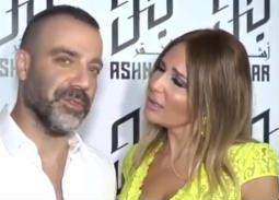 بالفيديو- لماذا أحرج جو أشقر زوجته على الهواء؟