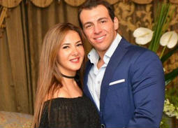 رامي رضوان وزوجته دنيا سمير غانم