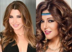 سميرة سعيد ونانسي عجرم تحتفلان بفوز الجزائر بكأس الأمم الإفريقية