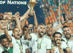 مشاهير الفن يحتفلون بفوز الجزائر بكأس الأمم الإفريقية