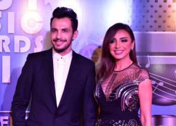 أنغام وأحمد إبراهيم وشرنوبي وكارمن أول الحاضرين لحفل MEMA