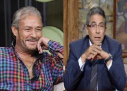 """بالفيديو- شهادة محمود سعد عن تقصير الفيشاوي مع ابنه """"عمر"""""""