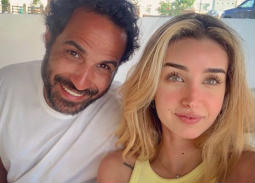 أحمد فهمي وهنا الزاهد يستعيدان ذكرى أول لقاء