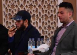 بالصور- أول ظهور للشقيقين أحمد وعمر الفيشاوي