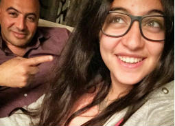 صورة- ظهور نادر لابنة غادة عادل ومجدي الهواري